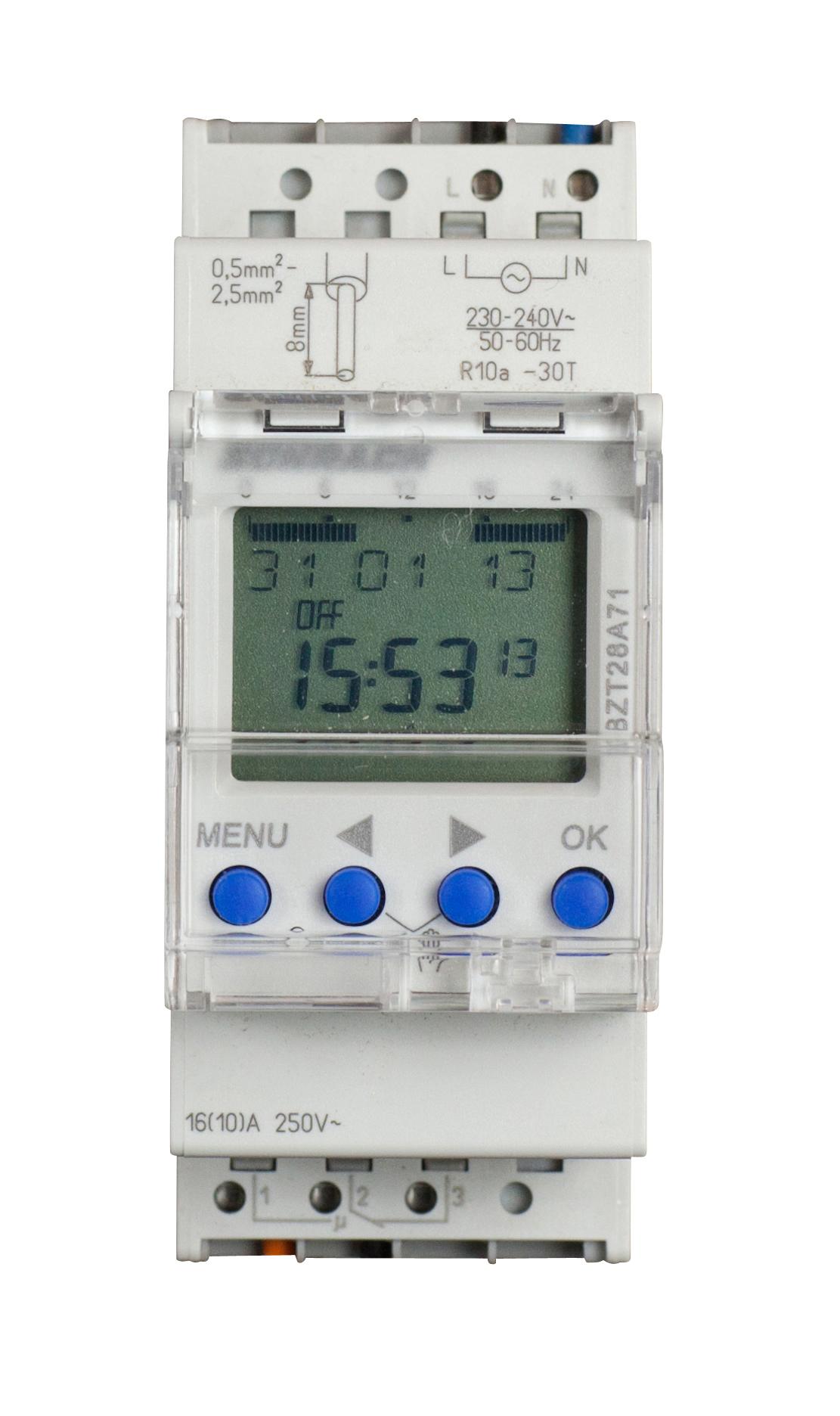 Ceasuri programabile, comutatoare crepusculare15541