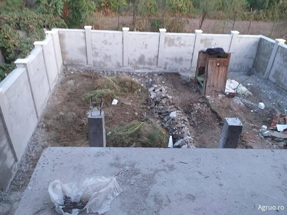 Manopera gard din zidarie4554