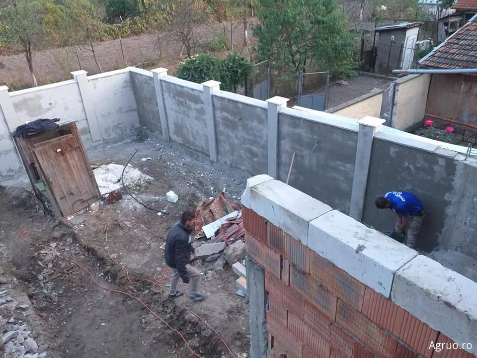 Manopera gard din zidarie4555