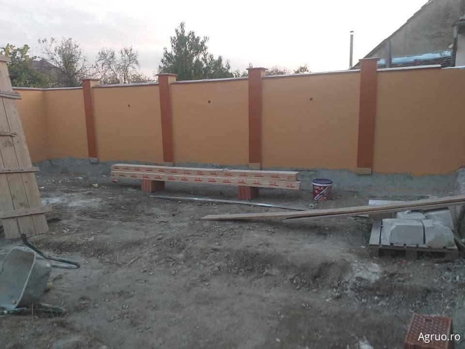 Manopera gard din zidarie4553