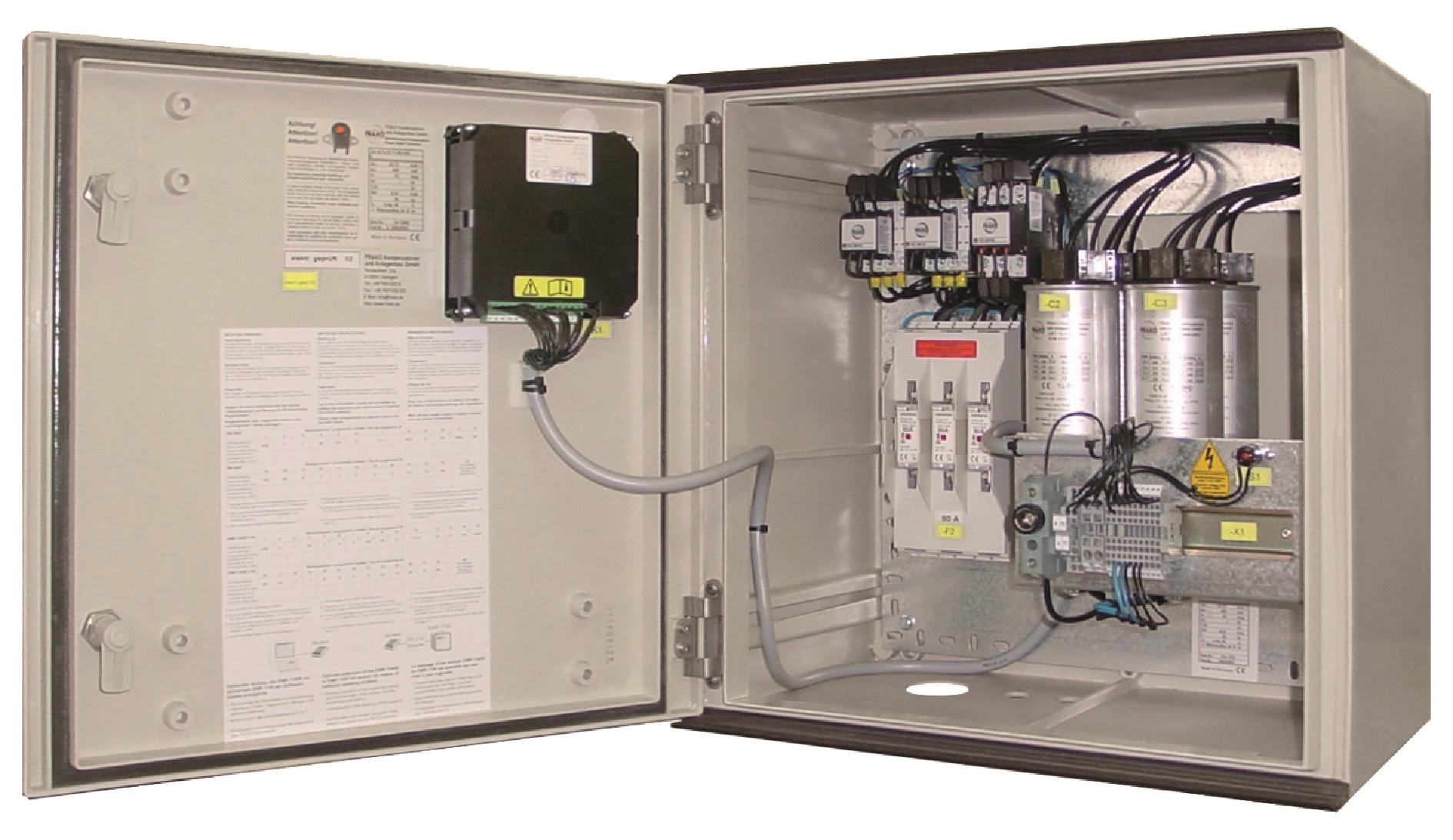 Componente si echipamente pentru compensarea factorului de putere16316