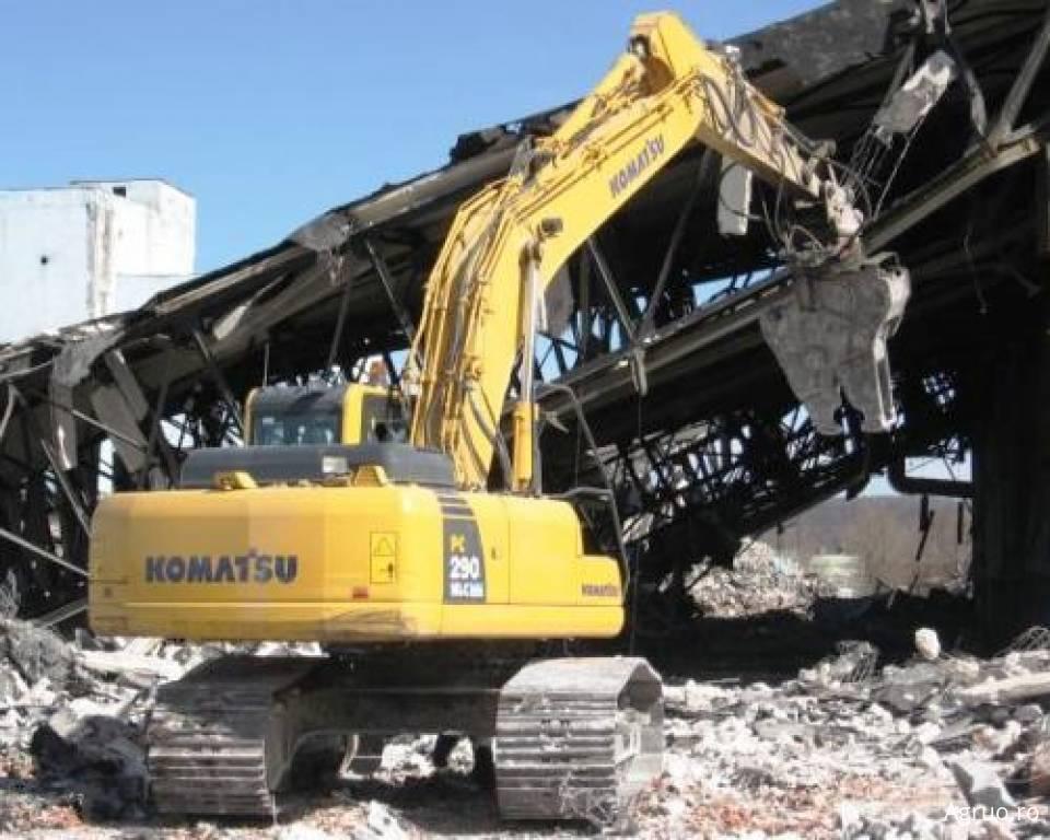 Excavator pe senile4865