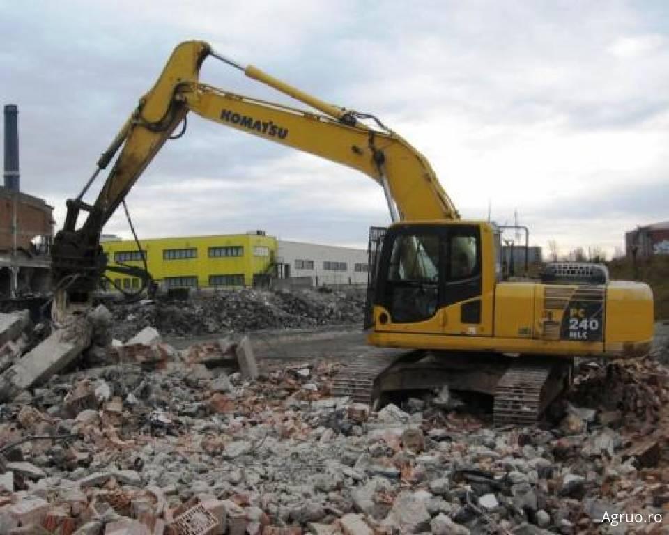 Excavator pe senile4866