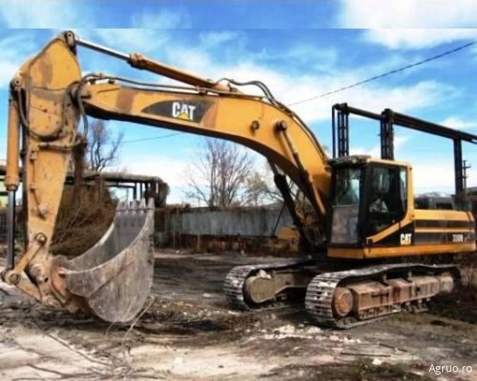 Excavator pe senile4868