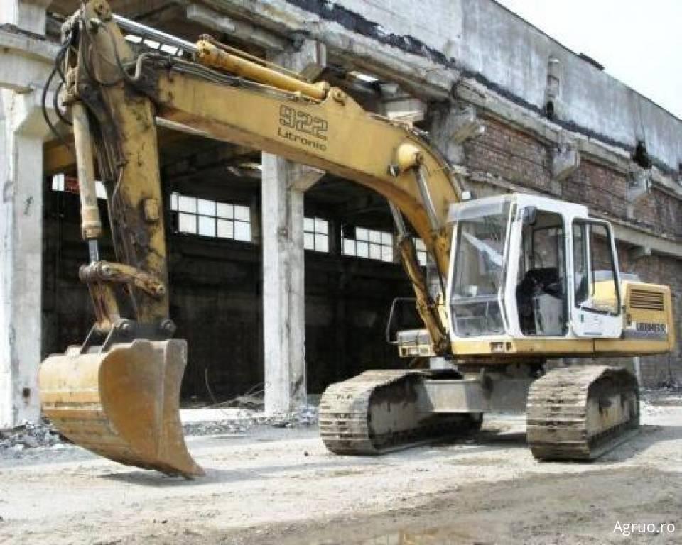 Excavator pe senile4870