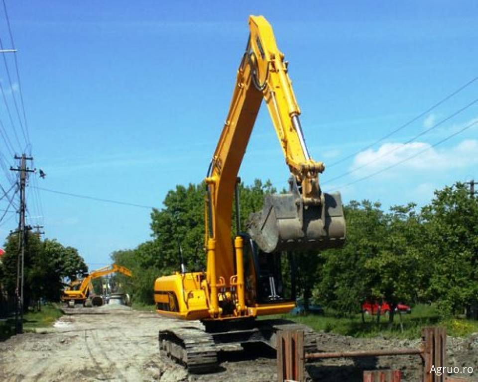 Excavator pe senile4871
