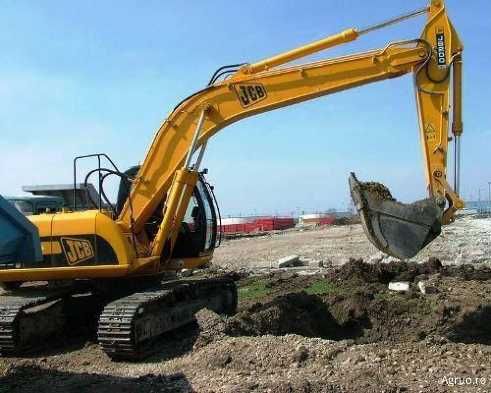 Excavator pe senile4876