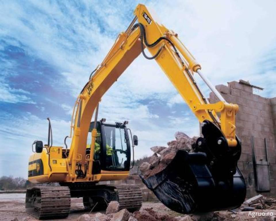Excavator pe senile4877