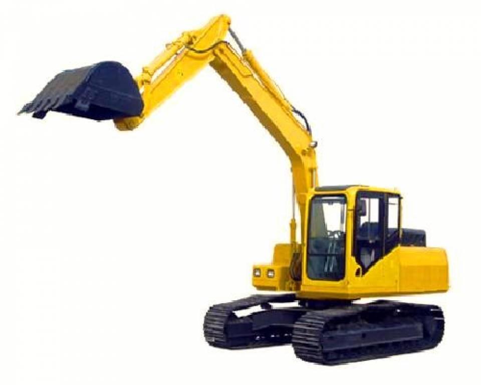Excavator pe senile4879