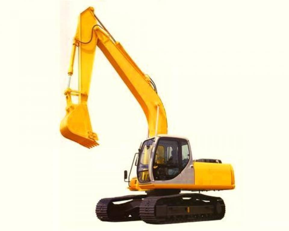 Excavator pe senile4881
