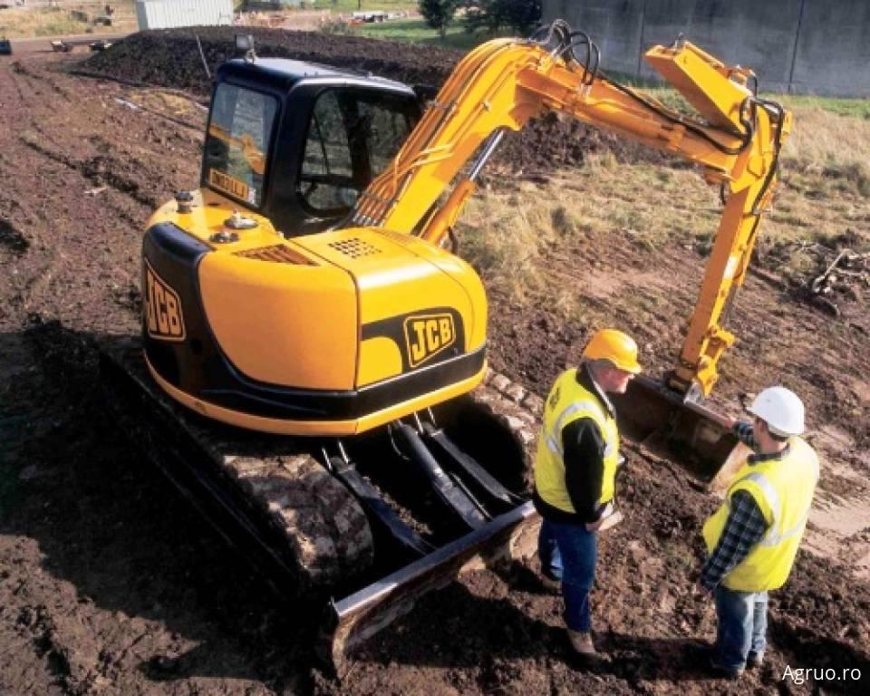 Excavator pe senile4882