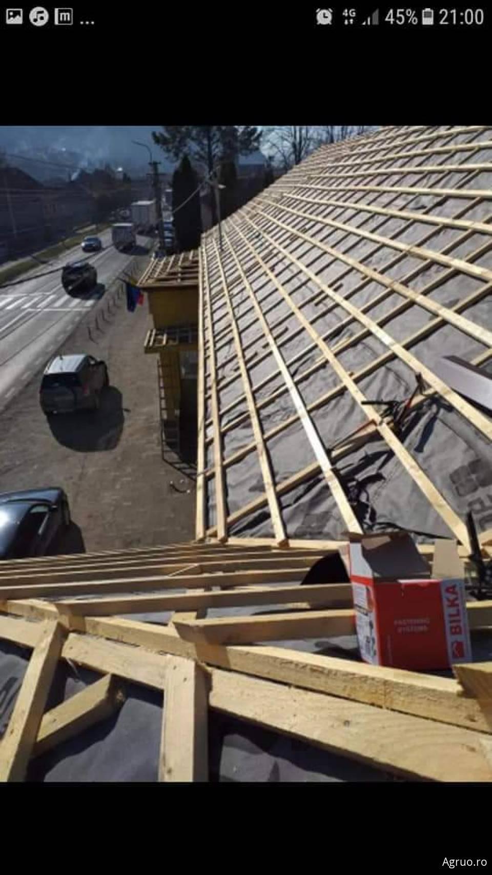 Montaj acoperis din tigla metalica4959