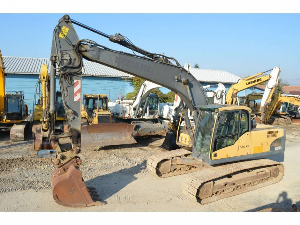 Excavator pe senile5050