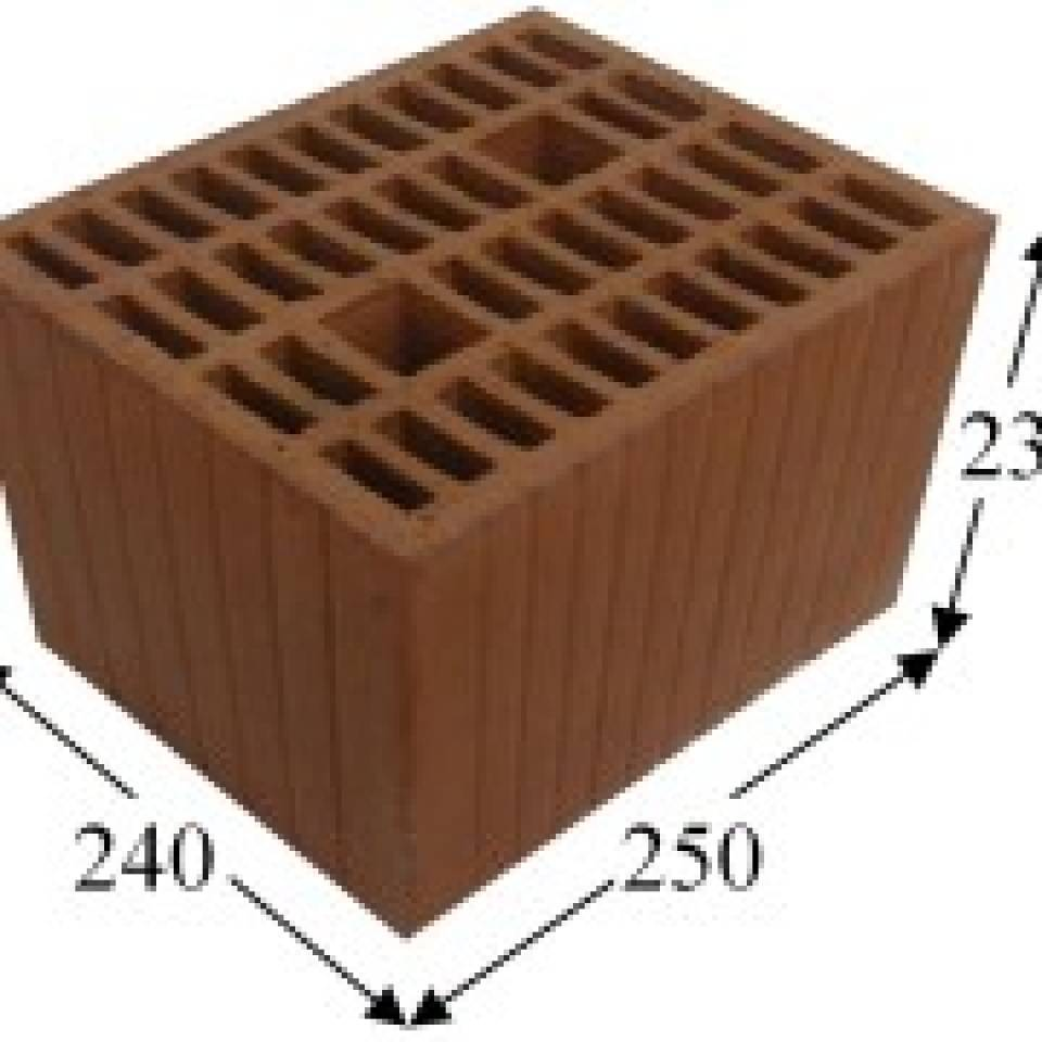 Caramida pentru zidarie portanta5524