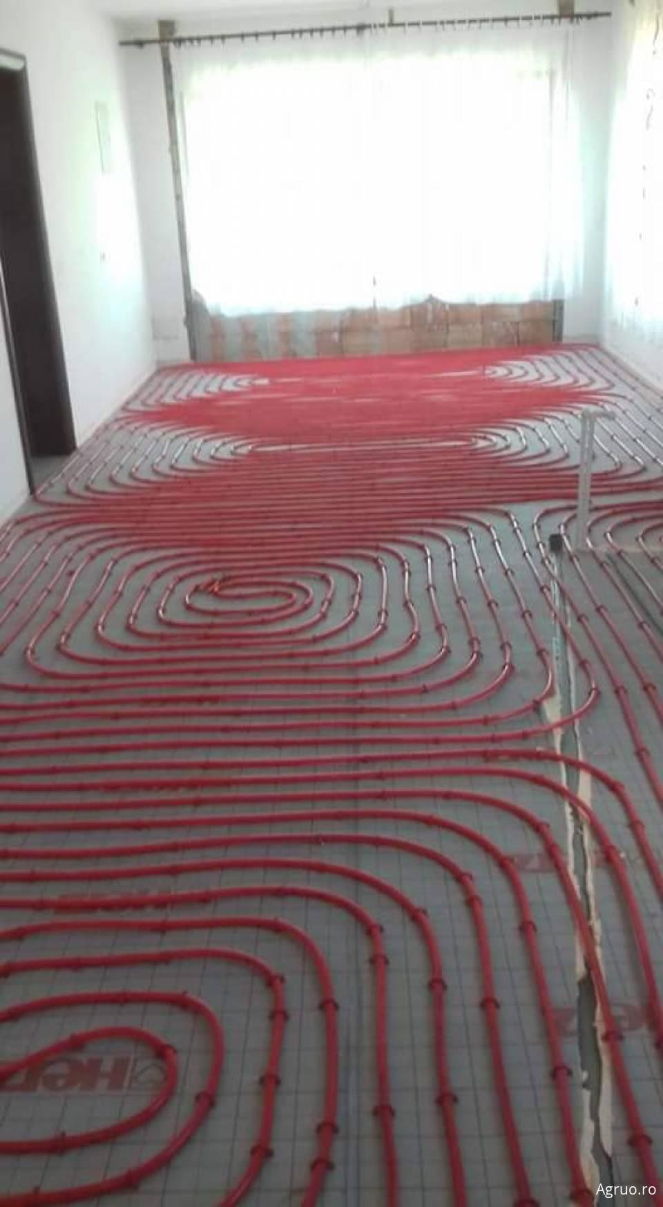 Montaj instalatii de incalzire prin pardoseala5700