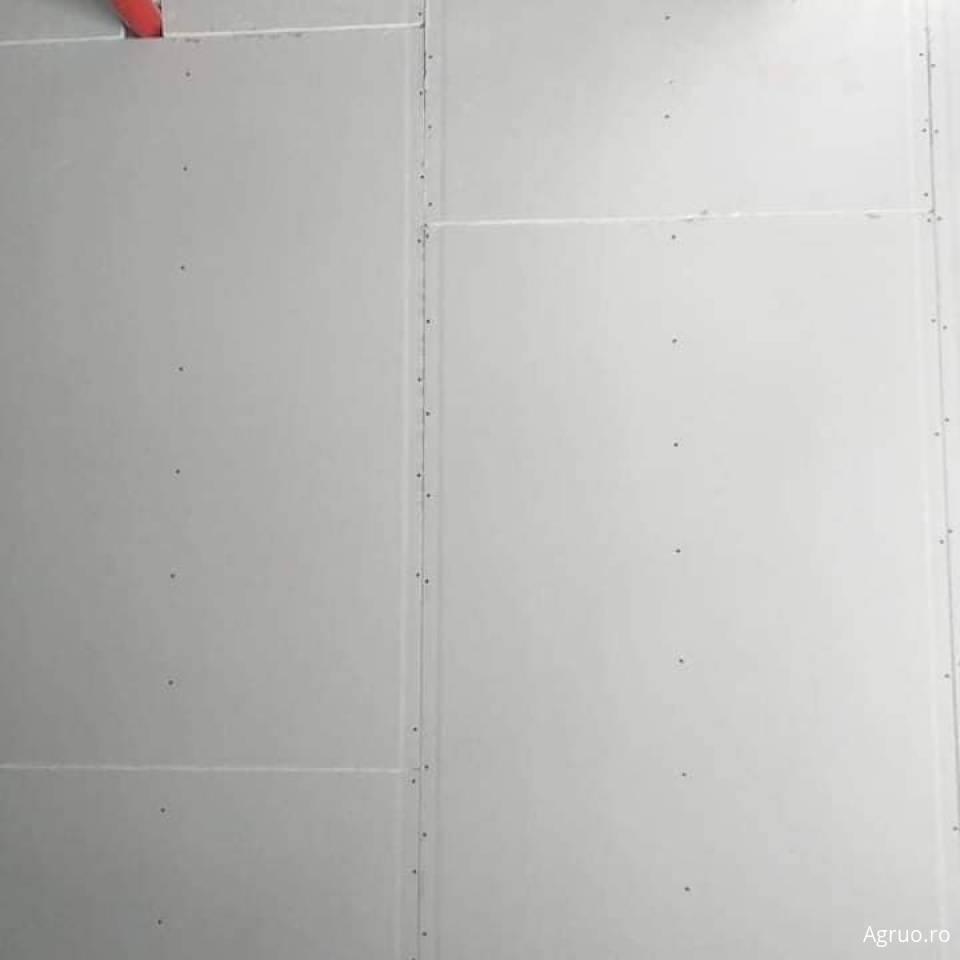 Montaj placi gips-carton pe structura metalica a peretilor5937