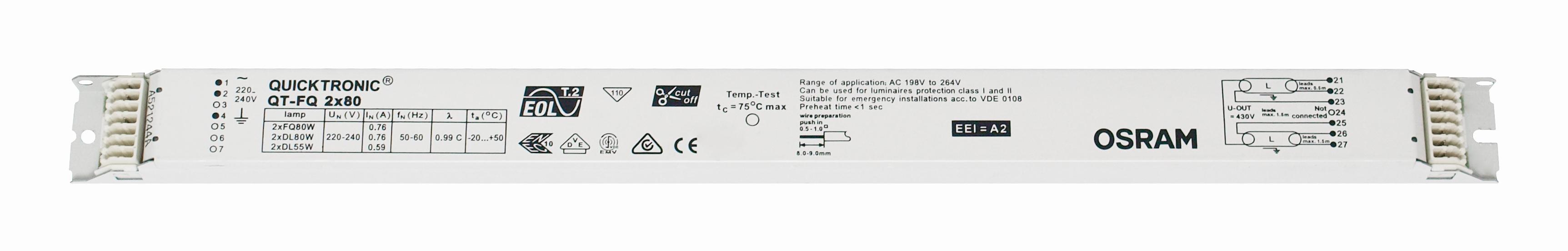 Balasturi electronice, gama OSRAM23899