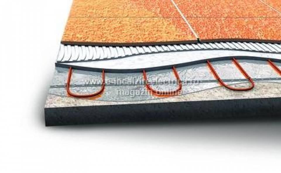 Kit incalzire in pardoseala cu cablu incalzitor la rola6322