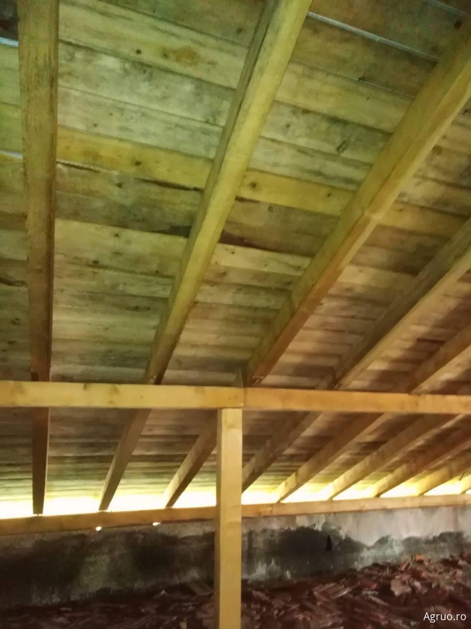 Montaj acoperis din  talbla faltuita626