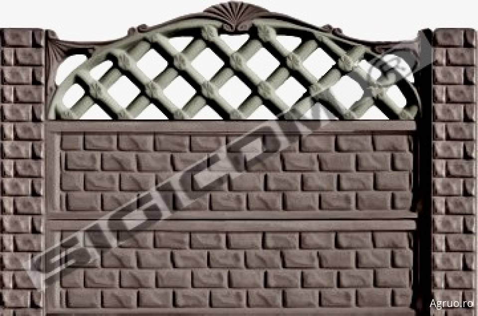 Placa de gard din beton6576