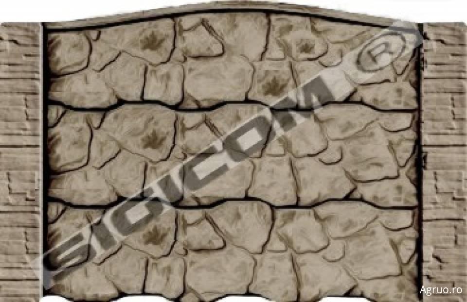 Placa de gard din beton6580