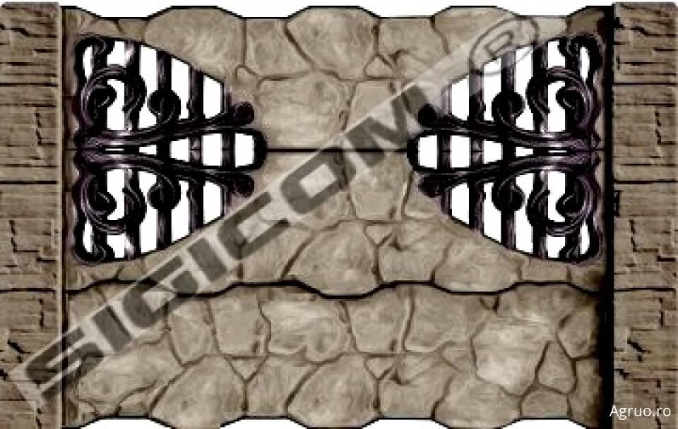 Placa de gard din beton6577