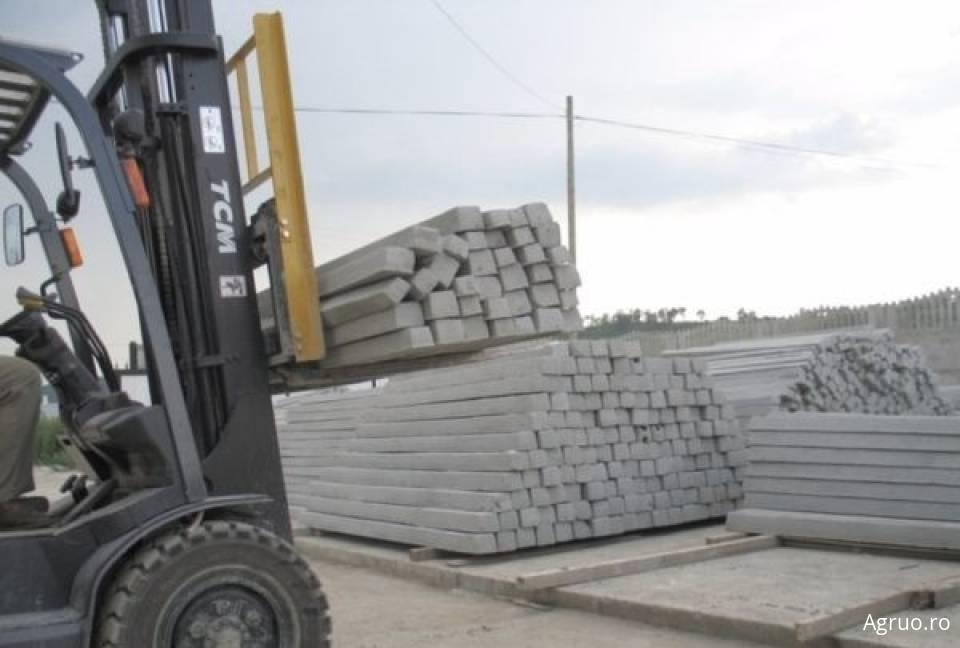 Stalpi cu model din beton cu armatura metalica6588