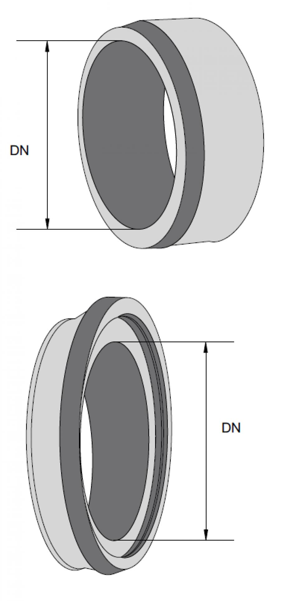 Piesă de racord PR Beton DN1200  Mufă 6707