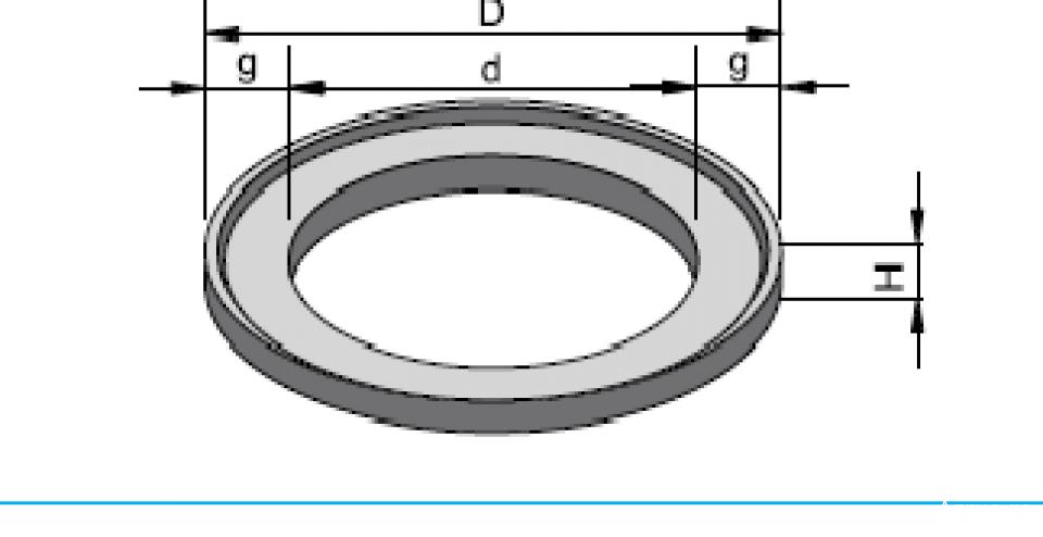 Inel de aducere la cotă IAC 80/61,5/5 6764