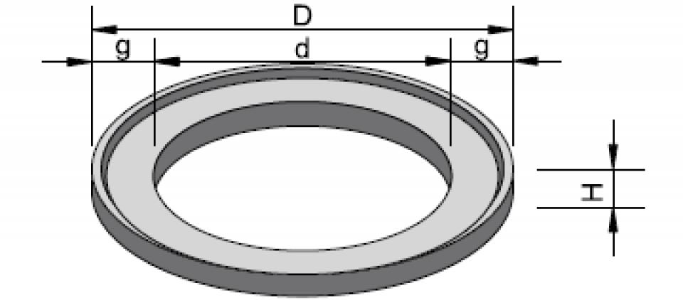 Inel de aducere la cotă IAC 80/61,5/5 6799