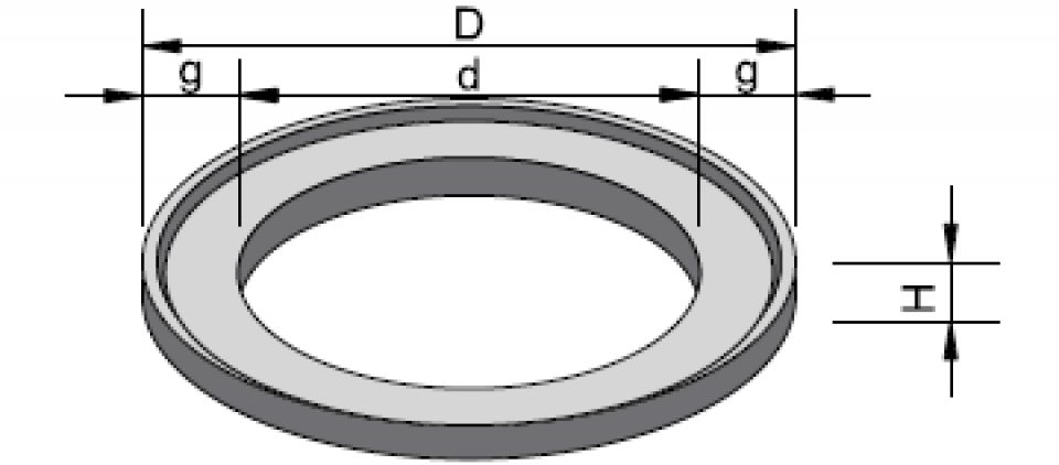 Inel de aducere la cotă IAC 80/61,5/106800
