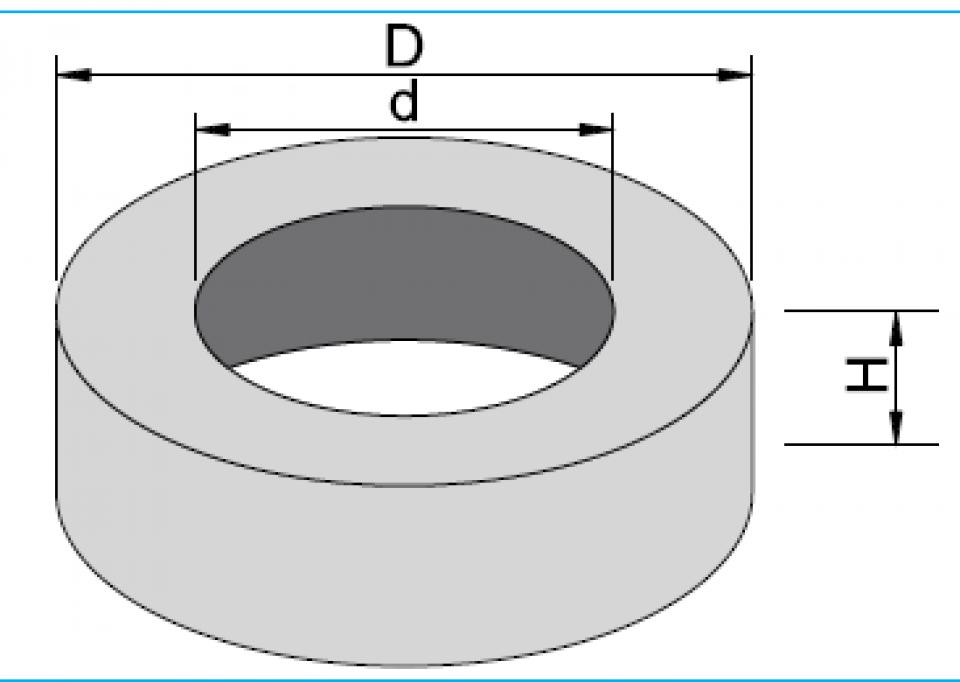 Placă pentru cămine PCC D127/80/20 gol 6805