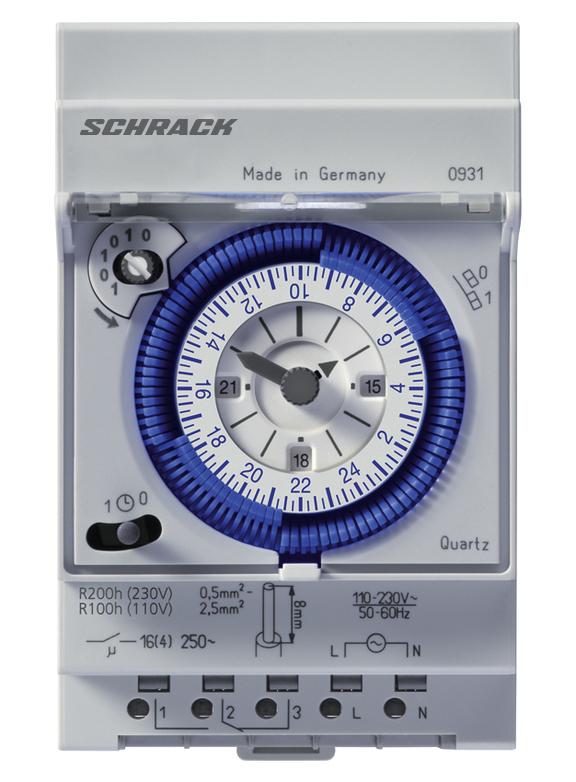Ceasuri programabile, comutatoare crepusculare29601