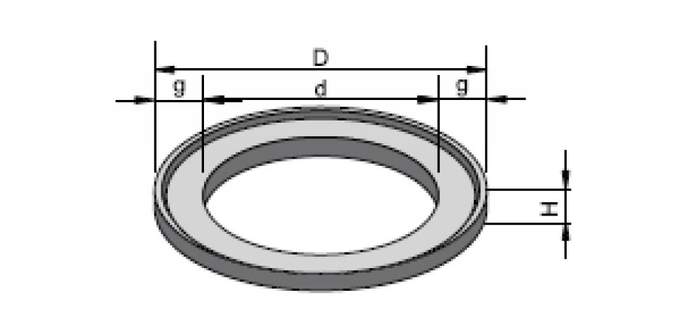 Inel de aducere la cotă IAC 80/61,5/5 6823