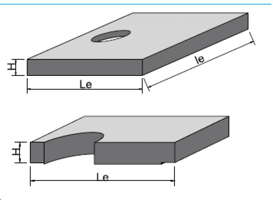 Placă bazin rectangular PBR 390/240/25 6865