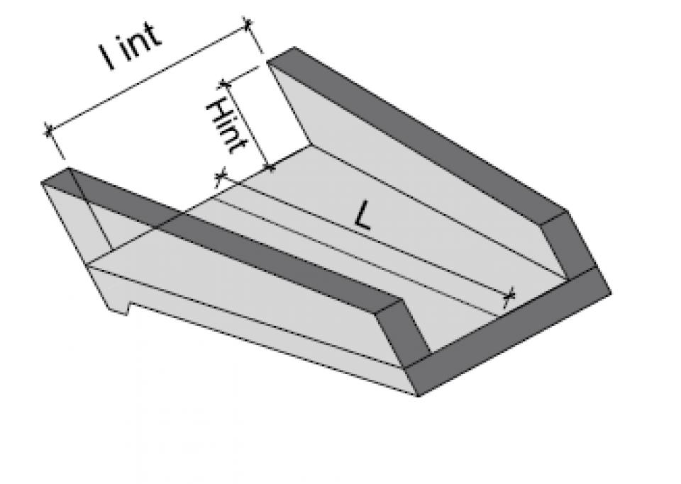 Casiu prefabricat CP 50/36/156948