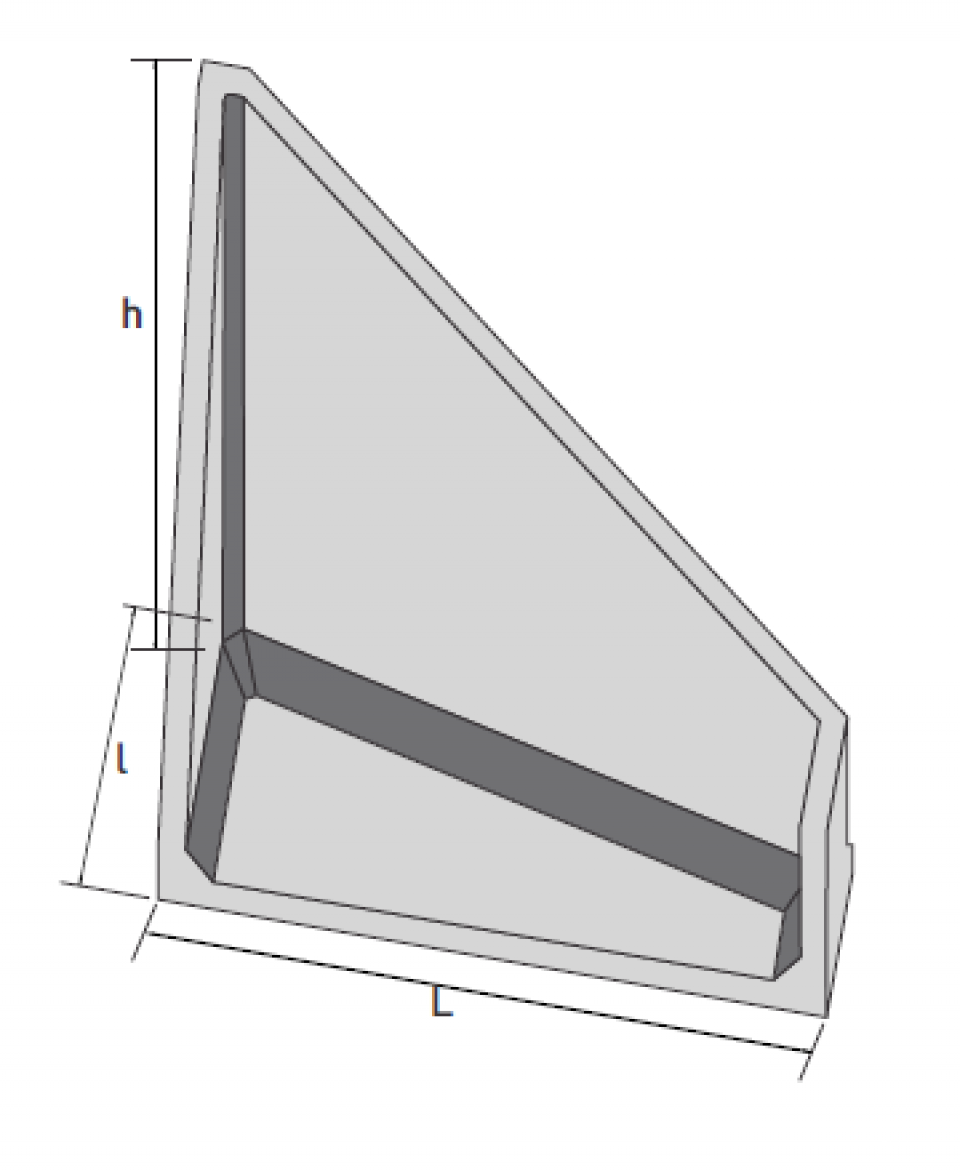 Aripa prefabricata tip A06974