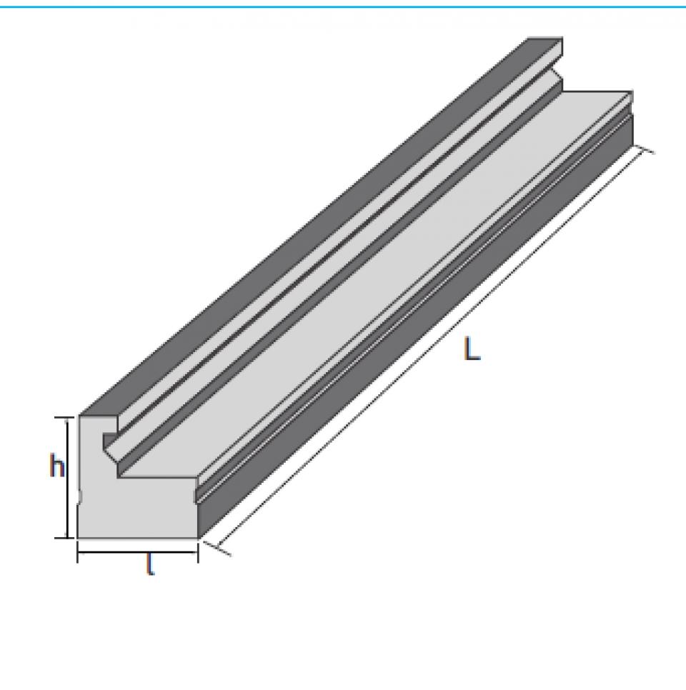 Dala prefabricata tip D1M6996