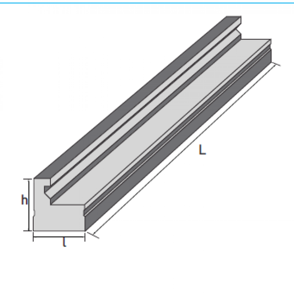 Dala prefabricata tip D2M6997