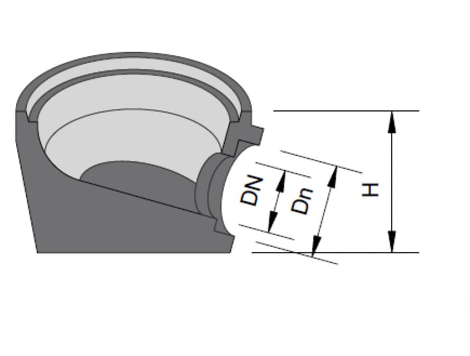 Guri de scurgere Tip 1 Inel superior cu suport coş7014