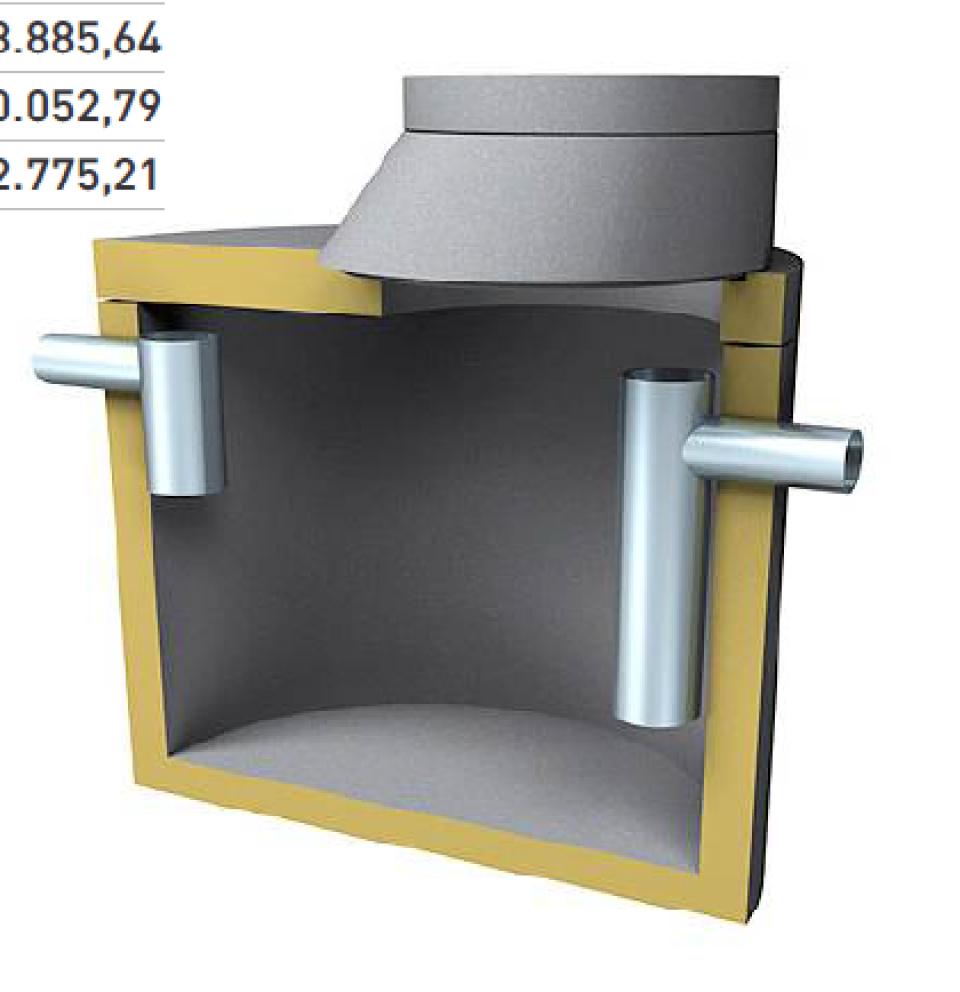 Separator de grăsimi SW KFA 5i EN7230