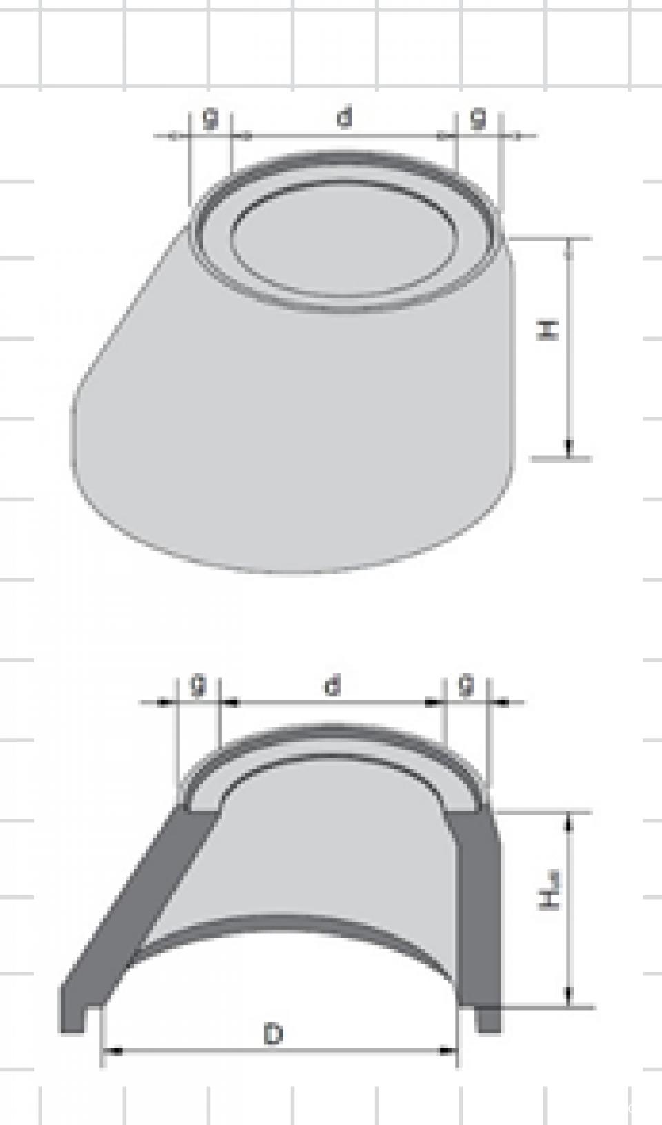 Cap tronconic D1000/d8007261
