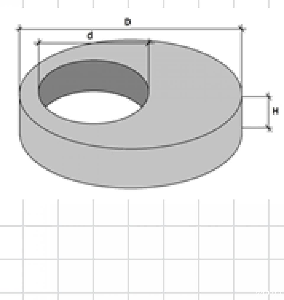 Placa de acoperire dreptunghiulara L 1200mm7268