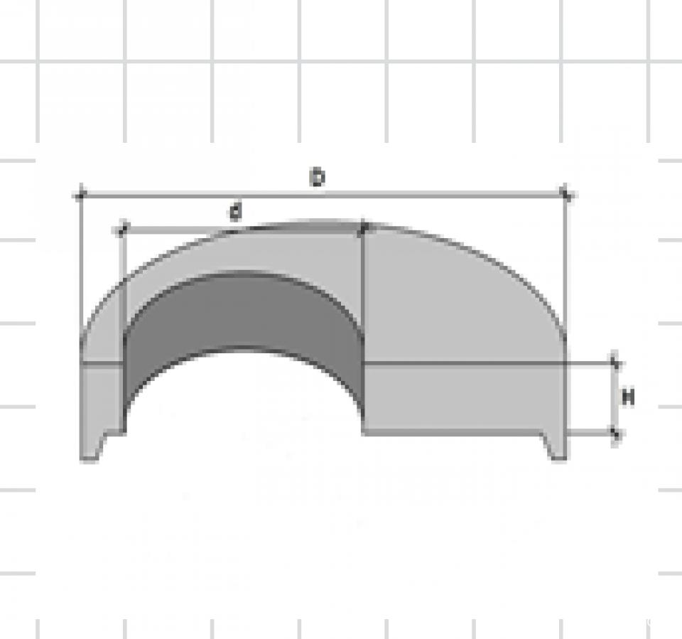 Placa de acoperire circulara Ф 1240 mm7275