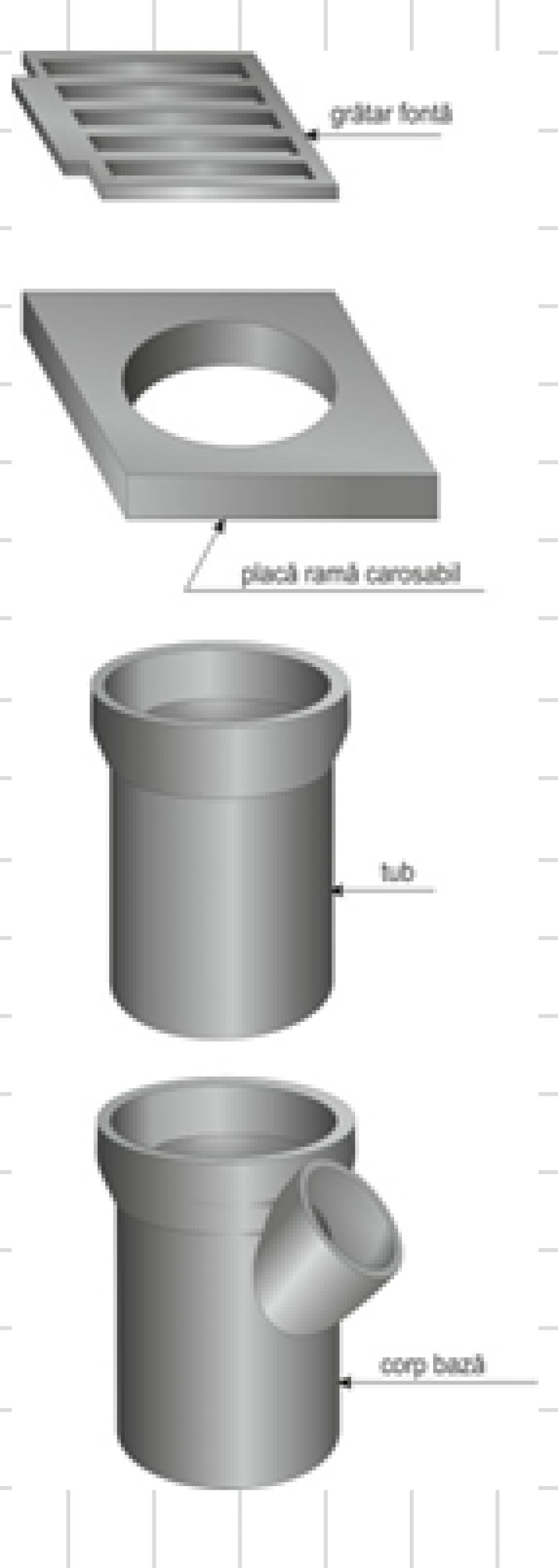 Piesă de racord PR PVC DN160 7284
