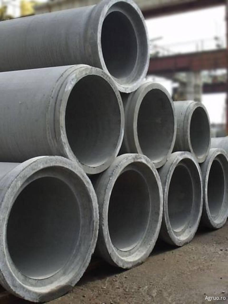 Tub beton nearmat 30cm cu talpa7316