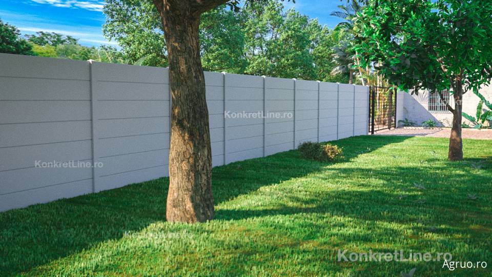 Placa de gard din beton7345