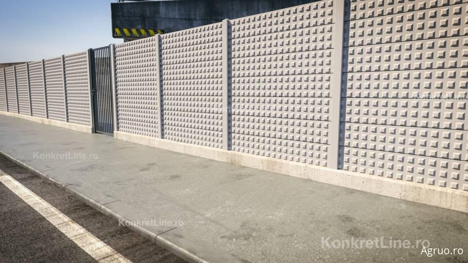 Placa de gard din beton7429