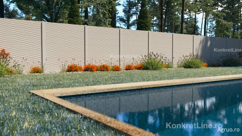 Placa de gard din beton7459