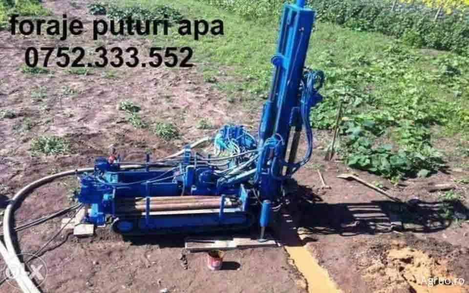 Foraj de apa de la 80-120 m adancime, tubat cu teava de 140 mm41
